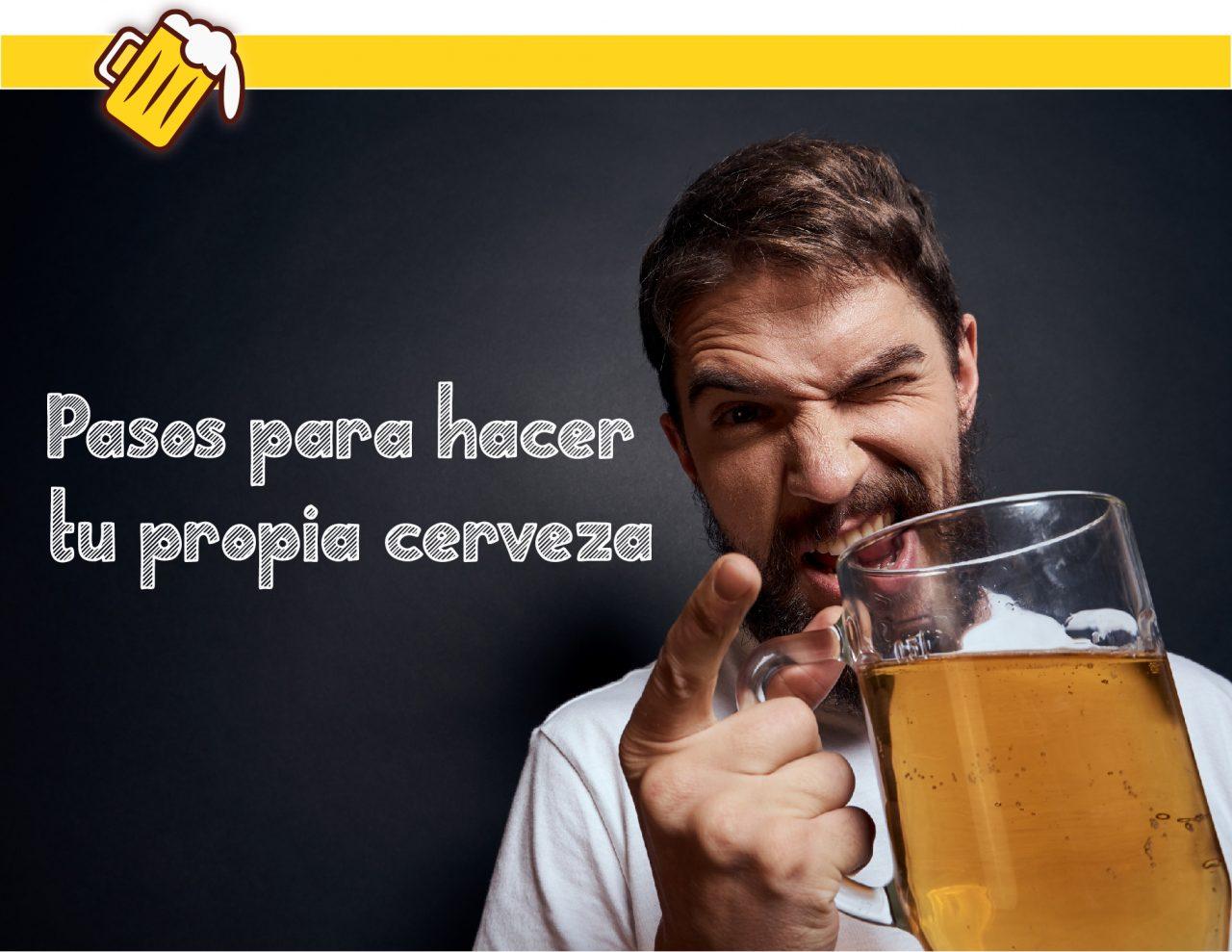 pasos para elaborar tu cerveza